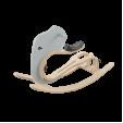 Kit balansoar elefant gri