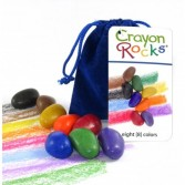 Jucarii educative Crayon Rocks - Set 8 creioane de colorat
