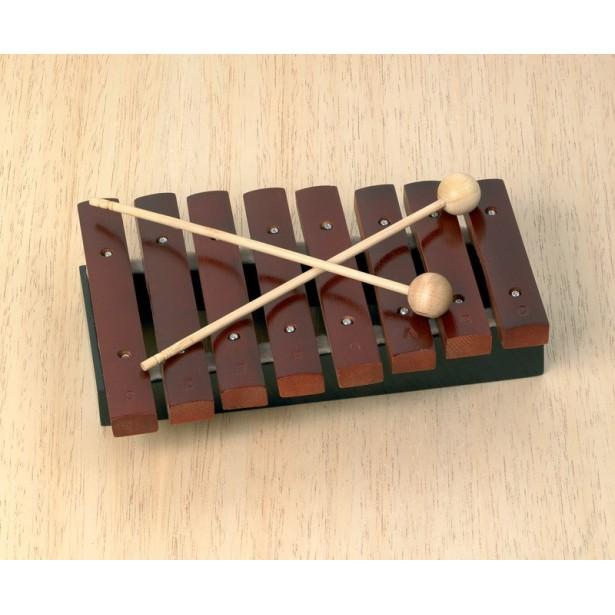 Jucarie muzicala - Xilofon 8 sunete lemn