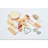 Set instrumente muzicale de ritmicitate format din 10 instrumente - TickiT