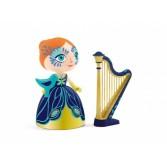 Printesa Elisa cu harpa - Colectia Arty toys - Djeco
