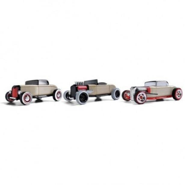 Automoblox set 3 masinute mini hot rod