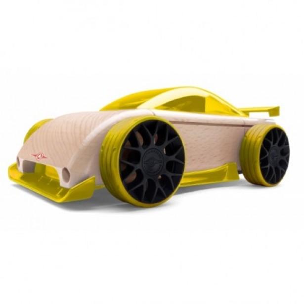 Automoblox Mini C9-R Sportscar - galbena