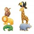 Puzzle gigant Djeco - animale salbatice