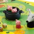 Joc de cooperare - Cei trei purcelusi de la Djeco