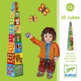 Turn de construit, Copac - Jucarii educative Djeco
