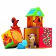Cuburi de construit cu animale Cubanimo de la Djeco