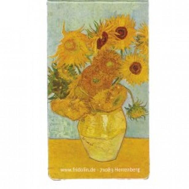 Semn de carte magnetic Fridolin - Van Gogh - Sunflowers