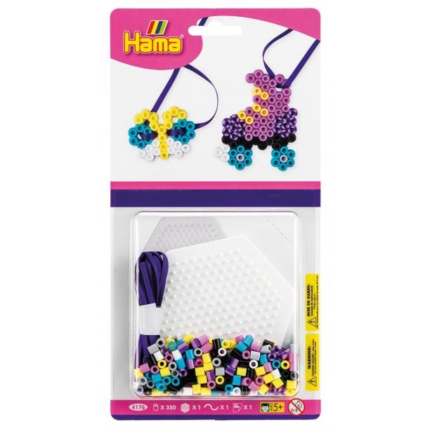 Mini kit Hexagon - 350 de margele HAMA MIDI