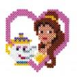 Margele de calcat HAMA MIDI Printesele Disney 1100 in cutie