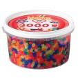3000 margele HAMA MIDI MIX NEON in borcan plastic