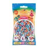 1000 margele HAMA MIDI CU DUNGI MIX90 in pungulita