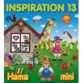 Cartea INSPIRATII nr. 13 HAMA MINI