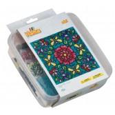 FLORI - 10.500 margele HAMA MINI in cutie de plastic