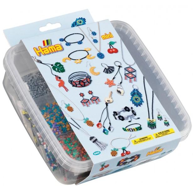 ACCESORII - 10.500 margele HAMA MINI in cutie de plastic