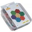 HEXAGON - 10500 margele HAMA MINI in cutie de plastic