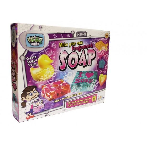 Joc educativ - Laborator de facut sapunuri pentru copii