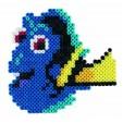 Margele de calcat HAMA MIDI Finding Dory 2000 in cutie
