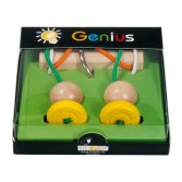 IQ Test Genius Eliberează inelul - piese galbene
