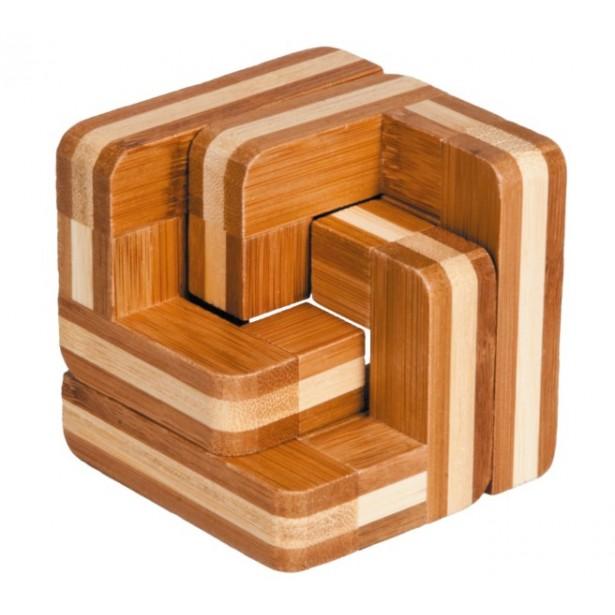 Joc logic IQ din lemn bambus Scări
