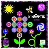 Joc magnetic Kinoptik Djeco - Grădina