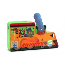 Puzzle Djeco - Locomotiva de tren