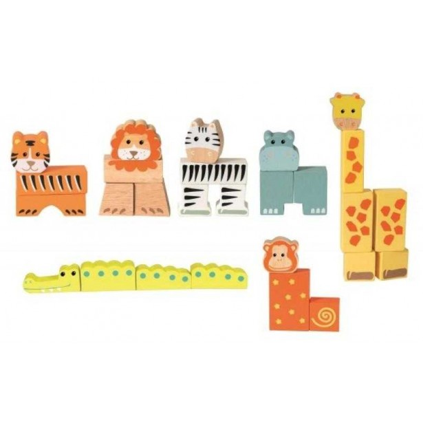 Animale din cuburi Egmont toys