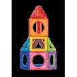 Set magnetic de construit - Magformers Basic Plus, 26 piese - Clics toys
