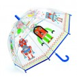 Umbrela colorata Djeco - Roboti