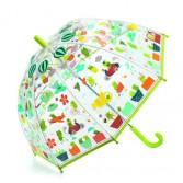 Umbrela colorata Djeco - Broscute