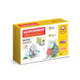 Set magnetic de construit - Magformers Animale, 40 piese - Clics toys
