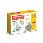 Set magnetic de construit - Magformers Animale, 40 piese - Clics toys