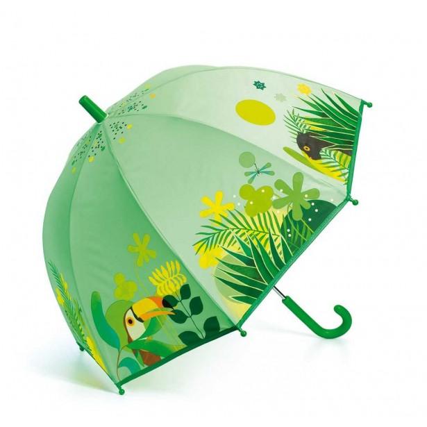 Umbrela colorata Djeco - Jungla