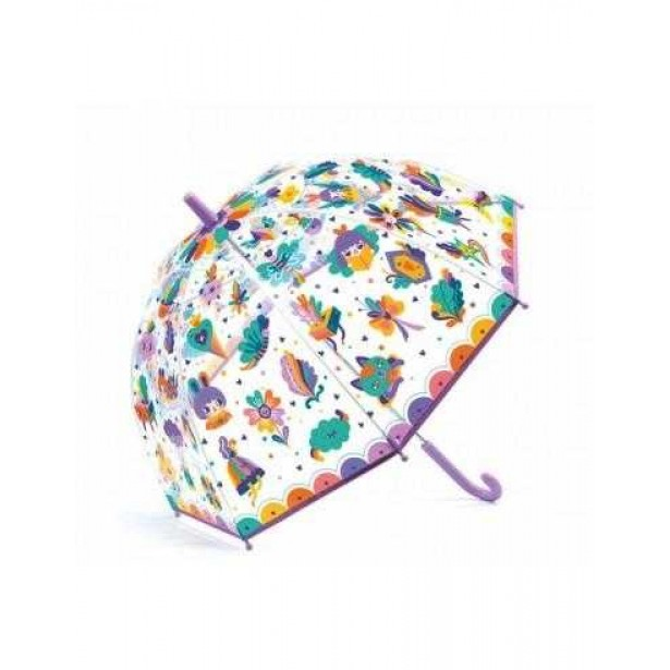 Umbrela colorata Djeco - Curcubeu