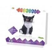 Origami 3d - Creagami pisica, CreativaMente