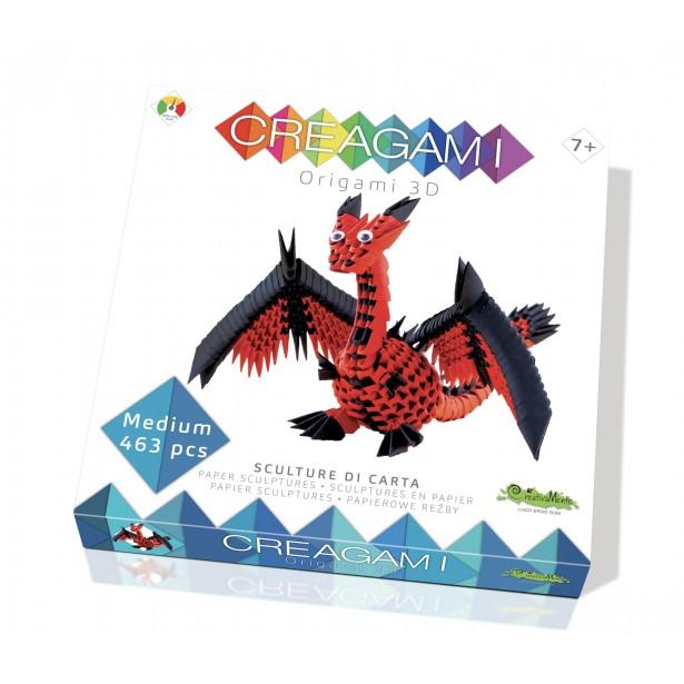Origami 3d - Creagami dragon, CreativaMente