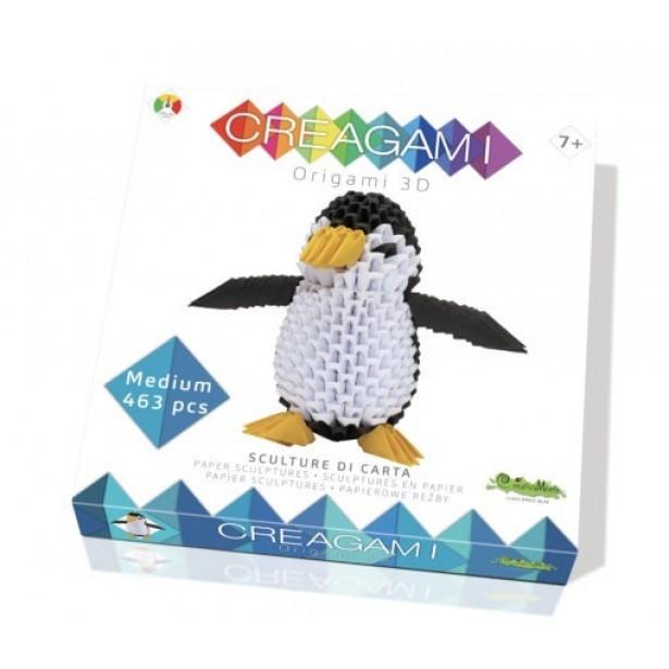 Origami 3d - Creagami pinguin, CreativaMente