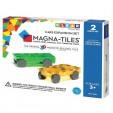 Magna-Tiles Extensie 2 masinute magnetice