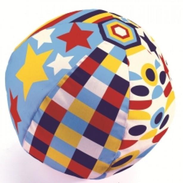 Husa textila baloane Djeco - Geometrie