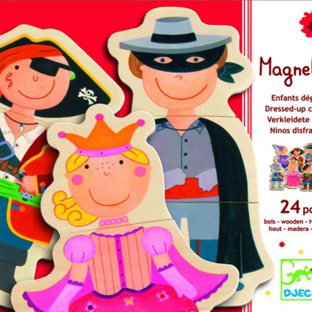 Joc cu magneti Djeco - Carnaval
