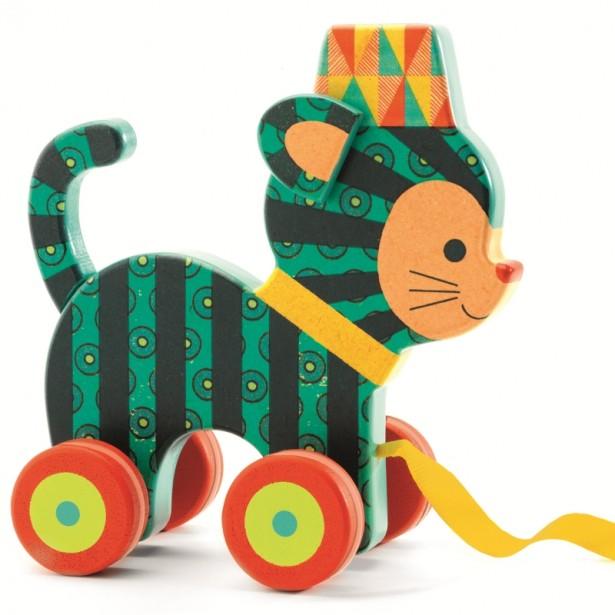 Jucarie de tras Djeco - pisicuta Neko