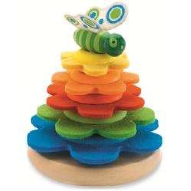 Piramida Montessori Fluture Djeco