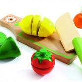 Fructe si legume de feliat Djeco - joc de rol