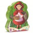 Puzzle Djeco - Scufita rosie