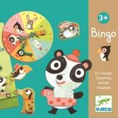 Joc Bingo copii Djeco cu animale