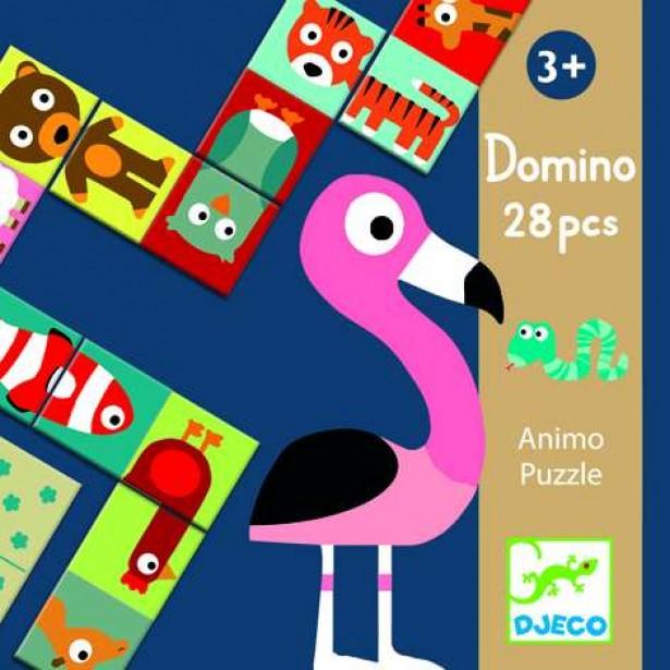 Puzzle Djeco - Domino animo