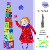 Turn de construit Djeco - Natura