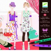 Atelier de moda Djeco – fii designer