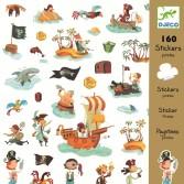 Abtibilduri Djeco - Pirati