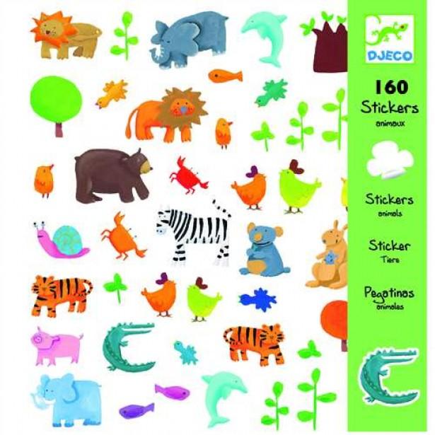 Abtibilduri Djeco - Animale 1